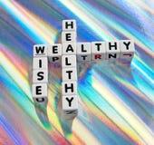 Saudável, rico e sábio Fotografia de Stock Royalty Free