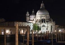 Saudação do della de Santa Maria dos di da basílica imagem de stock royalty free