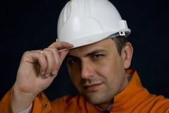 Saudação do mineiro Imagens de Stock Royalty Free