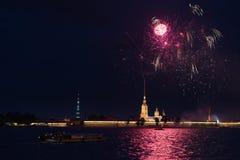 Saudação em St Petersburg Fotografia de Stock Royalty Free