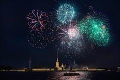 Saudação em St Petersburg Imagens de Stock Royalty Free