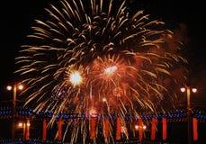 Saudação festiva em honra do 70th aniversário de Imagem de Stock Royalty Free