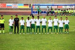 Saudi arabia anthem Stock Image