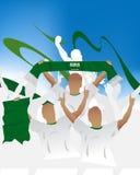 Saudi Arabia crowd Vector Illustration