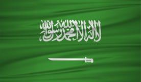 Free Saudi Arabia Flag Vector. Vector Flag Of Saudi Arabia Blowig In The Wind. Stock Photos - 117227413