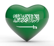 Saudi Arabia Patriotism Stock Image