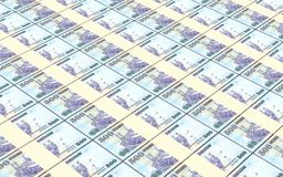 Saudi Arabia rials bills stacked background. Stock Photos