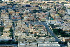 Saudi Arabia - Riyadh. Riyad, capital of Saudi Arabia, central residential area and mosque Stock Photography