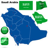 Saudi Arabia set. Royalty Free Stock Photo
