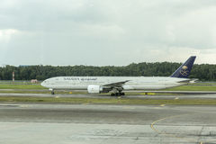 Saudi Arabian Airlines Photographie stock