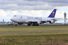 Saudi Arabian Cargo aircraft Stock Photography