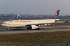 Saudi Arabian A330 Stock Image