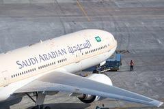 Saudi Arabian Push back Stock Photography