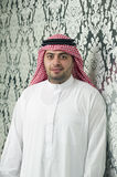 Saudi Arabian young businessman posing Royalty Free Stock Photography