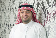 Saudi Arabian young businessman posing Stock Photo