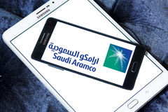 Saudi aramco logo Stock Photography
