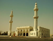 Saudi mosque Royalty Free Stock Photo