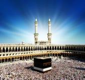 saudier för arabia kaabaMecka Arkivfoton