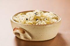 Sauerkraut. In a bowl close up shoot Stock Photo