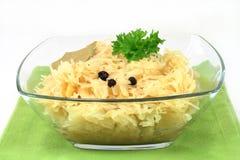 sauerkraut Στοκ εικόνα με δικαίωμα ελεύθερης χρήσης