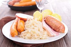 Sauerkraut Royalty Free Stock Photo