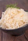 Sauerkraut Arkivfoton