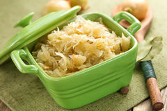 Sauerkraut Royalty Free Stock Photography