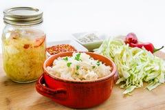 sauerkraut Imagem de Stock
