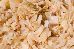 Sauerkraut or cabbage stewed Royalty Free Stock Images