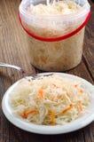 Sauerkraut with carrot Stock Photography