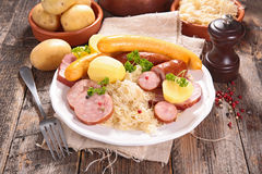 Sauerkraut Stock Photography