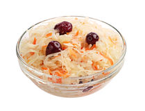 Sauerkraut with cranberries Stock Photos