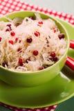 Sauerkraut with cranberry Royalty Free Stock Photos