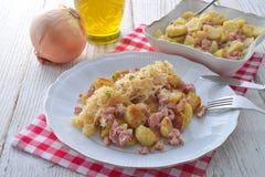 Sauerkraut dumplings Royalty Free Stock Photography