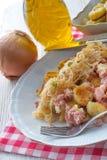 Sauerkraut dumplings Stock Image