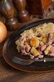 Sauerkraut dumplings Stock Photography
