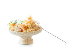 Sauerkraut Royalty Free Stock Image