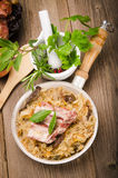 Sauerkraut in Polish kind Royalty Free Stock Photo