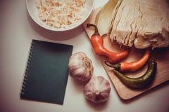 Sauerkraut recipe Stock Images