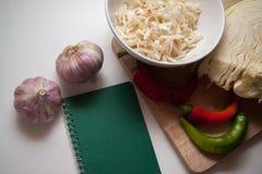Sauerkraut recipe Stock Photo