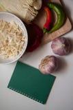 Sauerkraut recipe Royalty Free Stock Images