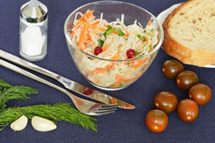 Sauerkraut - Russian national food Stock Photo