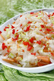 Sauerkraut salad Royalty Free Stock Images