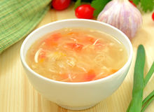 Sauerkraut soup Royalty Free Stock Photo