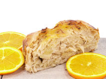 Sauerkraut strudel Royalty Free Stock Photo
