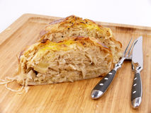 Sauerkraut strudel Royalty Free Stock Photos