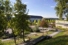 Sauerlandpark della città di Hemer in Germania Fotografia Stock