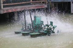 Sauerstoff für Wasser- und Abwasserbehandlung Stockfotos