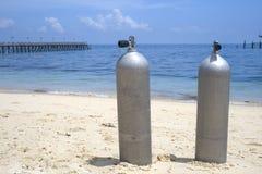 Sauerstoff-Tauchens-Becken lizenzfreie stockbilder