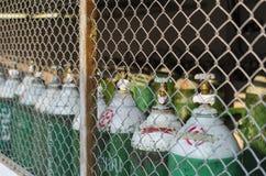 Sauerstoffflasche Stockbilder